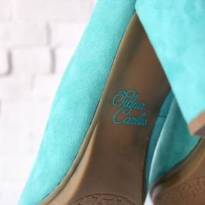 Pegatina para zapatos de novia