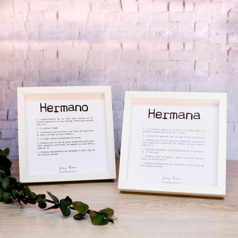 Pack de cuadros para testigos de boda