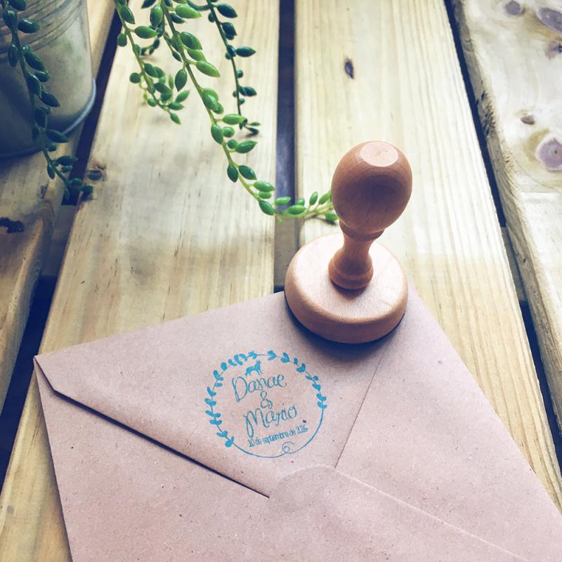 Tu sello personalizado para tu boda