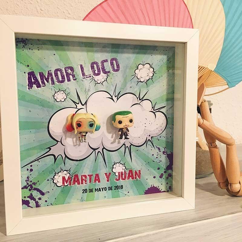 Cuadro AMOR LOCO