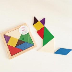 Juego de tangram para niños