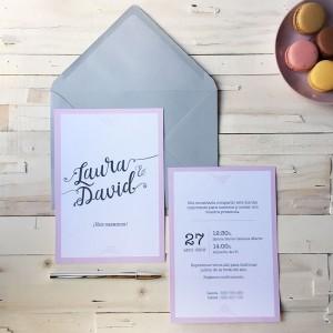 Invitación de boda MARIE
