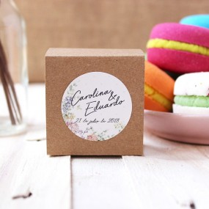 Macaron de baño para bodas