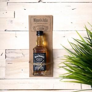 Mini Jack Daniels para invitados