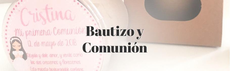 Detalles para bautizos y comuniones